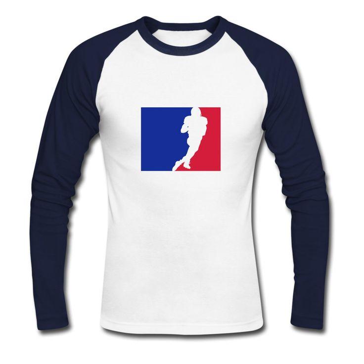 Football Classics Raglan Longsleeve by 40 Burger // Finest Football & Fashion. #americanfootball #football #40burger #40b #nfl #rannfl #raglan #longsleeve #shirt #streetwear