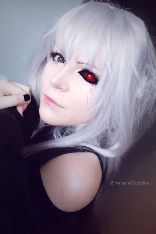 Female Kaneki cosplay aweesomeeee! :o