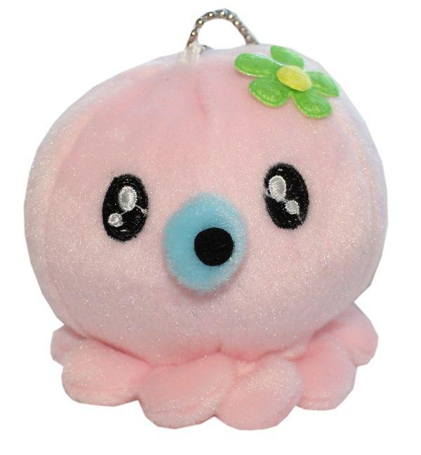 Plushie Octopus Roze
