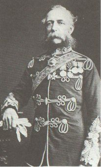 Lieutenant General James Thomas Brudenell, 7th Earl of Cardigan, KCB, was an officer in the British Army who commanded the Light Brigade during the Crimean War. He led the Charge of the Light Brigade at the Battle of Balaclava