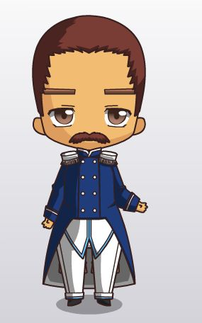 """Catch up on """"The Soldier and the Traveling Companion"""" & see Soldier dressed up: http://www.jukepop.com/home/read/8800  #ChibiJukePop"""