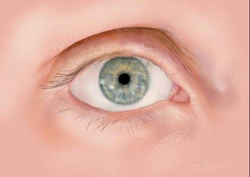#green#eye#digital#draw