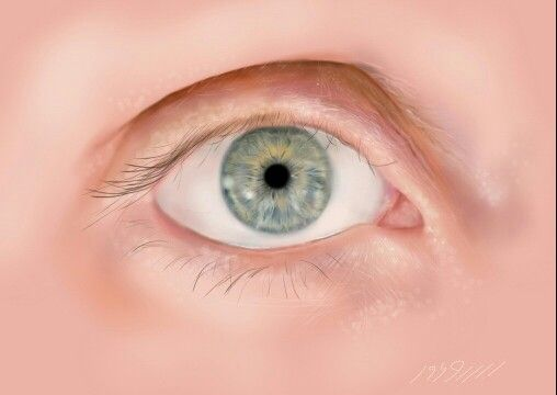 #green#eye#digital#draw