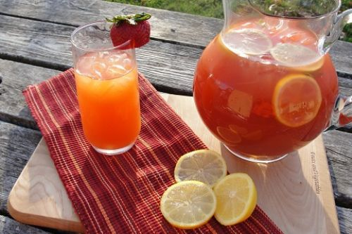 170 best ice tea recipes images on pinterest iced tea for Easy fruit tea recipe