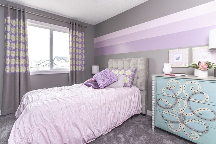 Such a cute bedroom for your little princess :)