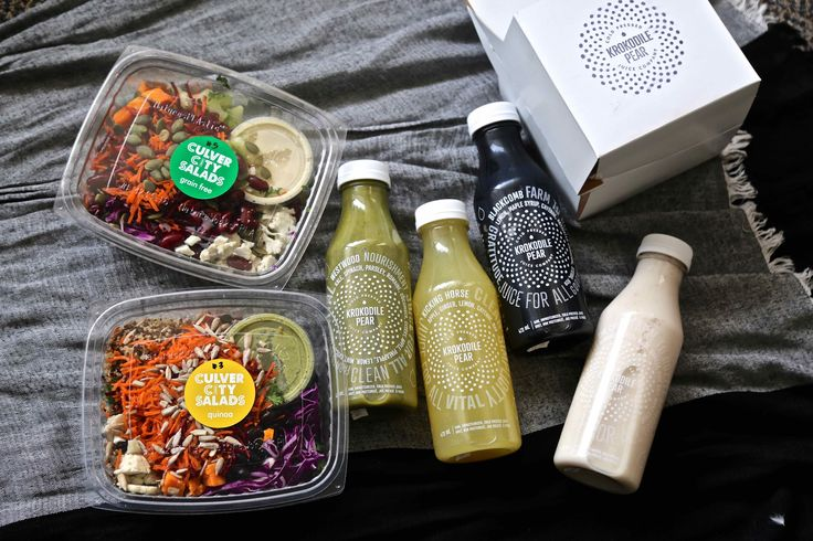 A new cleanse program in vancouver with krokodile pear & culver city salads #juicecleanse #cleanse #juice #blog #greenjuice #healthy #nutritious #nourish #raw #gf #vegan