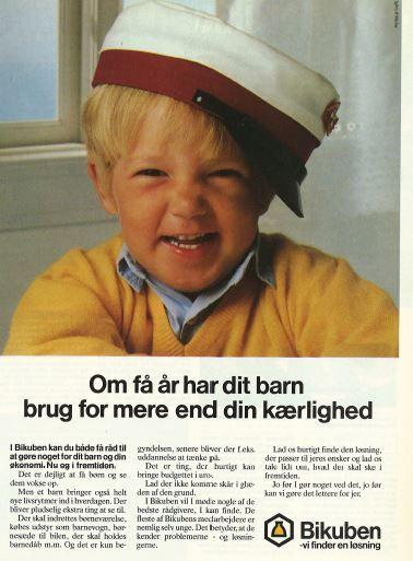 Reklame fra bikuben (1980'erne)