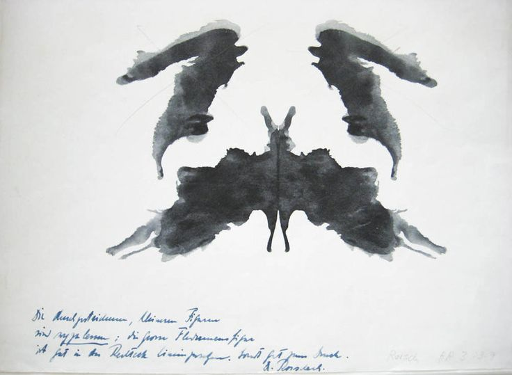 Rorschach Inkblots And The Roots Of Visual Empathy : Shots - Health News : NPR