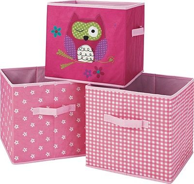 Buy Canvas Storage Boxes - Pink at Argos.co.uk visit Argos.  sc 1 st  Pinterest & 17 best Canvas storage boxes images on Pinterest   Storage boxes ...