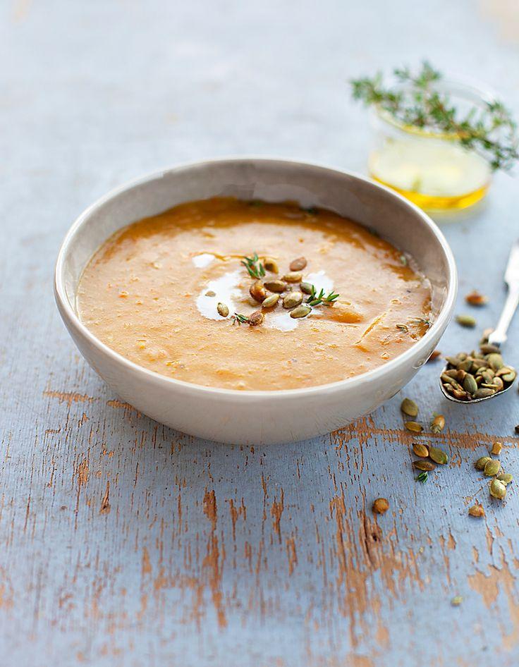 Soupes gourmandes : découvrez nos recettes de soupes hyper-réconfortantes pour l'hiver...
