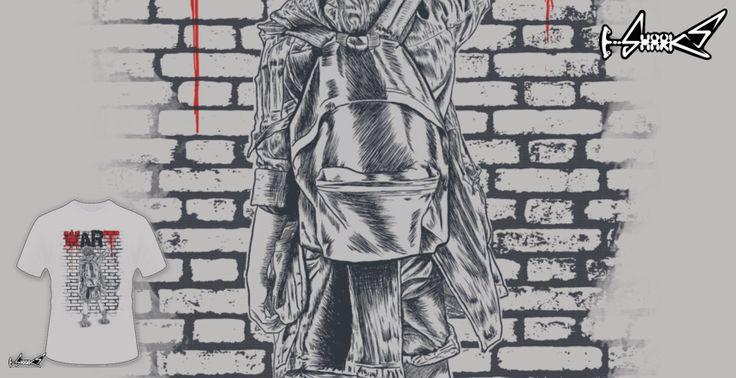 T-shirts - Design: Make Art Not War - by: Harry Fitriansyah