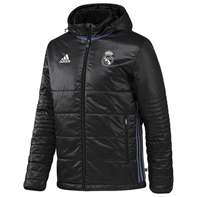 Image of Real Madrid Training Padded Jacket - Black