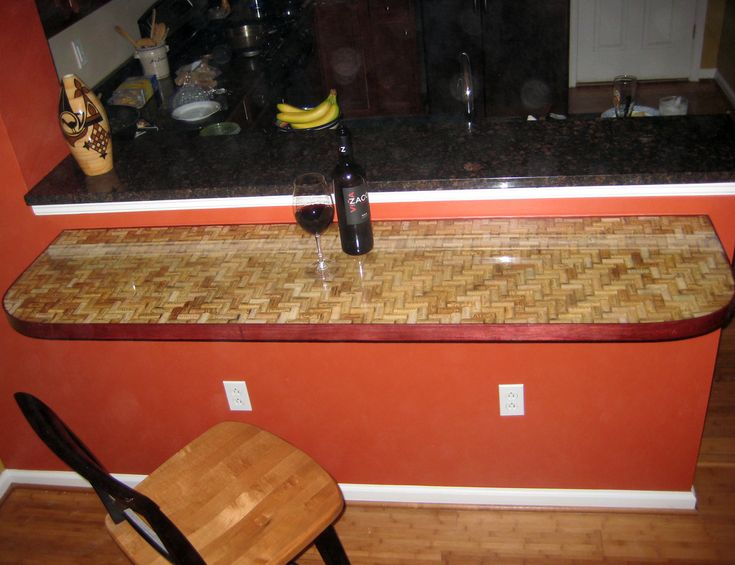 Epoxy bartop wine corks flickr diy up cycled wine Cork countertops