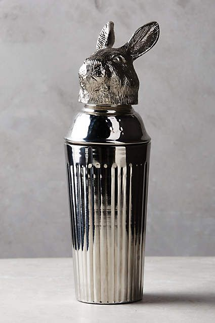 Winterwood Animal Cocktail Shaker - anthropologie.com I don't drink, but this is amazing!