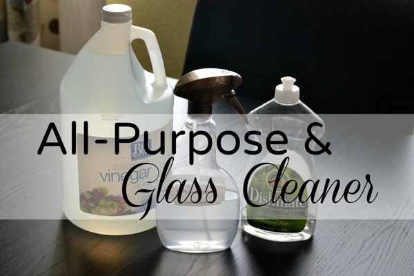 All Purpose And Glass Cleaner Home Detox Homemade