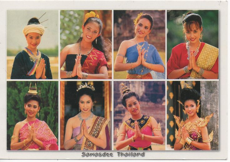 The way to greeting ( Sawasdee ) of Thai's people from ...