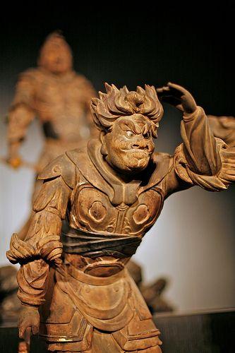 Sculpture At Tokyo National Museum, Japan.
