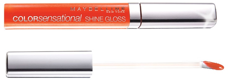 Jaki jest najmodniejszy kolor ust na wiosna/lato 2013? Mocny pomarańcz, słodki melonowy i neonowy różowy! Mocno napigmentowane i nawilżające błyszczyki znajdziesz w takich tropikalnych kolorach znajdziesz w kolekcji Maybelline Colorsensational Shine Gloss.