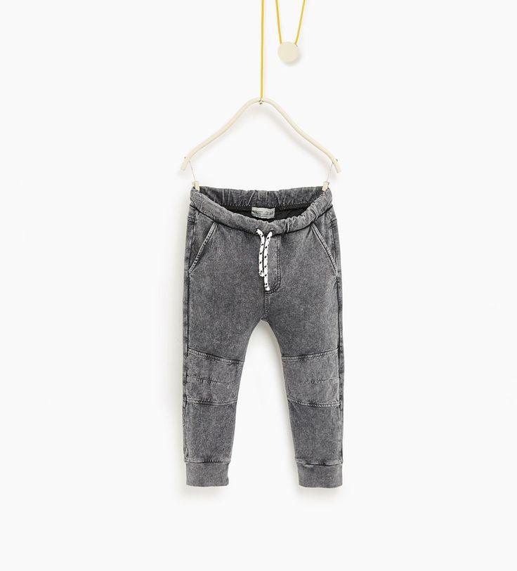 Zdjęcie 1 Spodnie z przeszyciami z Zara