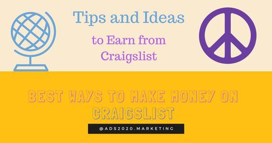 Make… http://feedproxy.google.com/~r/PostFreeAds-2020/~3/07lTSQfa4JI/making-money-on-craigslist-best-ways-earn-from-classifieds-giant.html