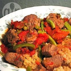 Greek Lamb with Green Beans and Tomatoes @ allrecipes.com.au
