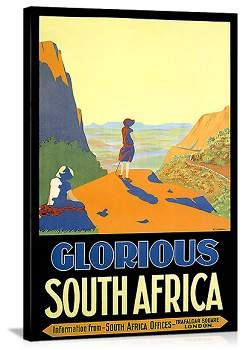 Glorious South Africa poster from Art.com to remember our South African honeymoon!
