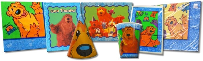 Bear in the Big Blue House Party Supplies