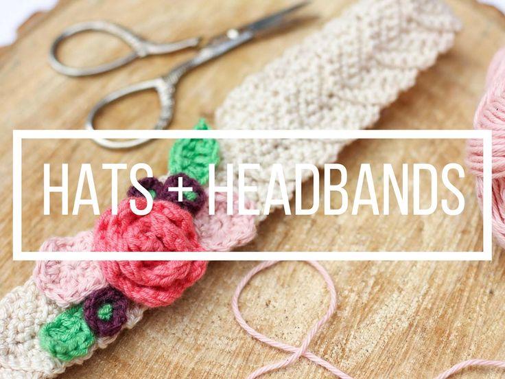 91 mejores imágenes de Crochet Hats + Headbands en Pinterest ...