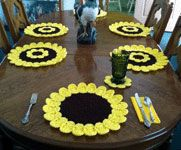 Sunny Sunflower Placemat