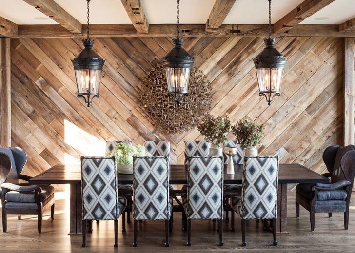Великолепный деревянный дом у озера Тахо / Интерьер / Архимир