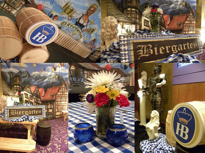 OKTOBERFEST theme! We turned the grand space at Charlotte's Hilton Center City into the Hofbrauhaus | ©Sterling Events Group