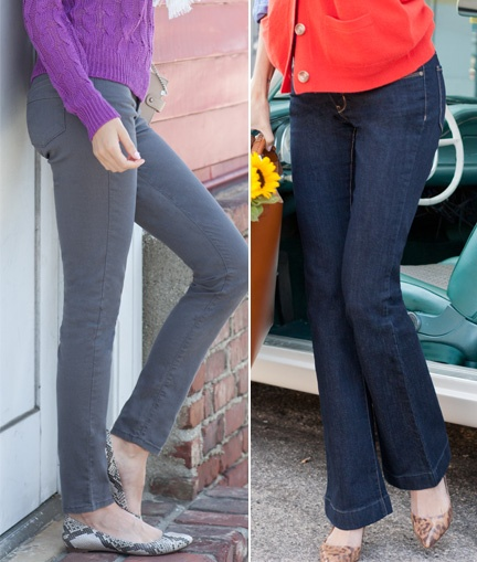 Essential Stretch jeans move with your body hour after hour to fit and flatter your figure the way jeans should.