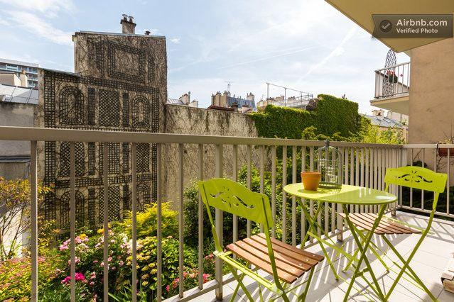 Bastille – sur jardin appt calme in Paris