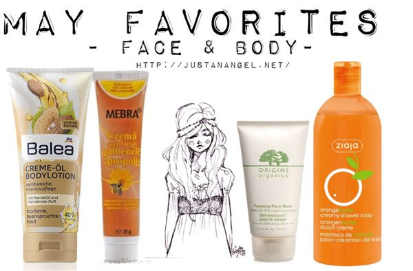 """Face & body may favorites"" by justanangel on Polyvore"