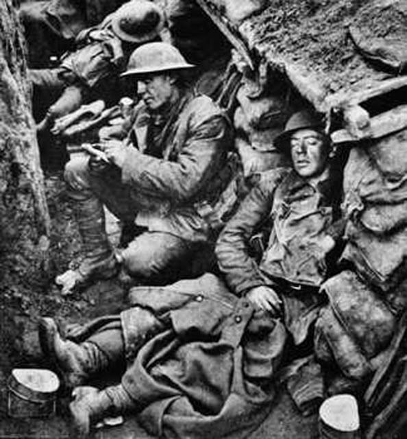 Death had a huge role in problems soldiers had in trenches. After soldiers had died they weren't touched or anything. This caused the areas to smell and attract insects. Not only did this affect other people, but other soldiers had to watch their friends die right next to them. It could have been them. This affected a lot of people lives if they made it out of war.