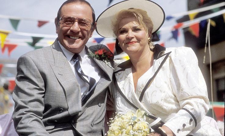 Pat and Frank's wedding in Eastenders