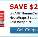 Save $2 on your next purchase of Thermacare! - #painmeds