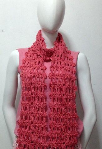 Free Crochet Pattern : Easy Crochet Scarf 2