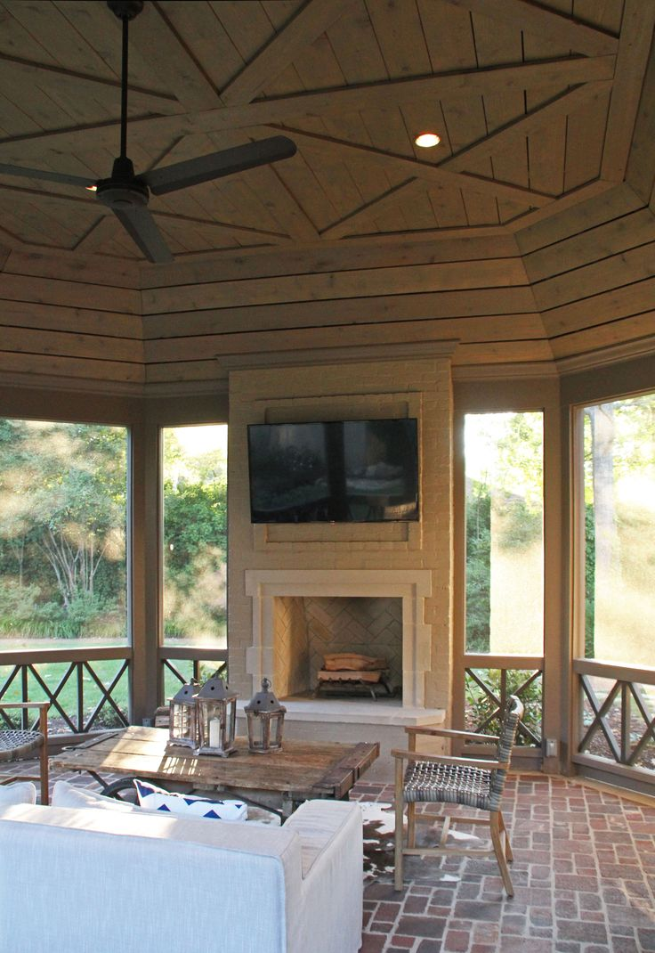 Architectural Deck Screening : Best images about screened porch mcclure l