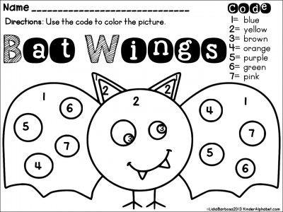 color by code bat - Bat Picture To Color