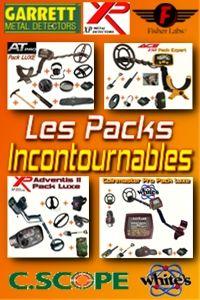 D-tecteur.com vous propose des pack détecteur avec accessoires à prix cassés