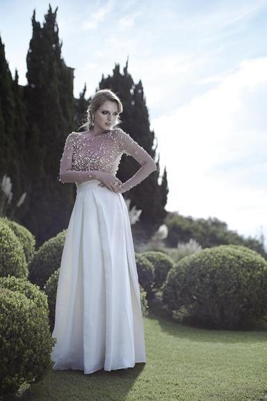 CARAS - Noivas 2012 - NOIVAS: Obra de arte em forma de vestidos