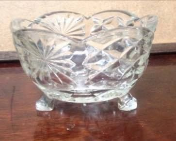 Old sugar bowl - in my experience it was used to contain anything and everything except sugar