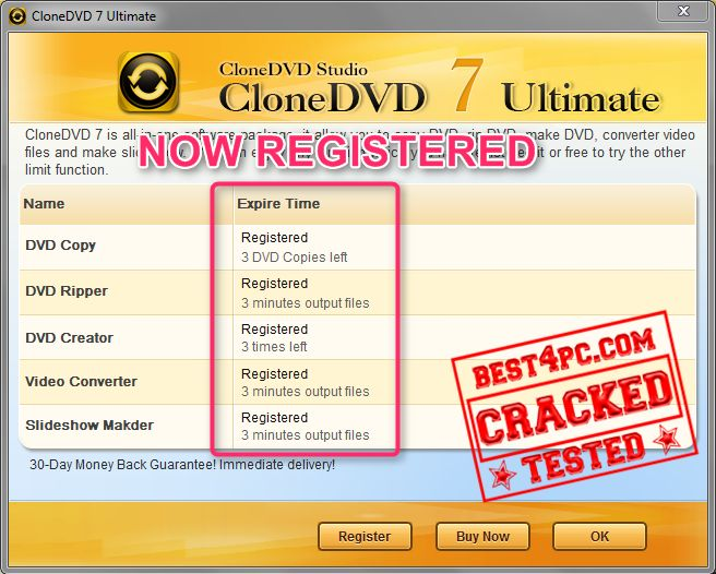 Dvd flick version 1.3.0.7 and source code no one