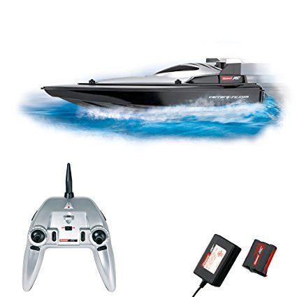 Carrera barca corsa da mare radiocomandata, nero: Amazon.it: Giochi e giocattoli