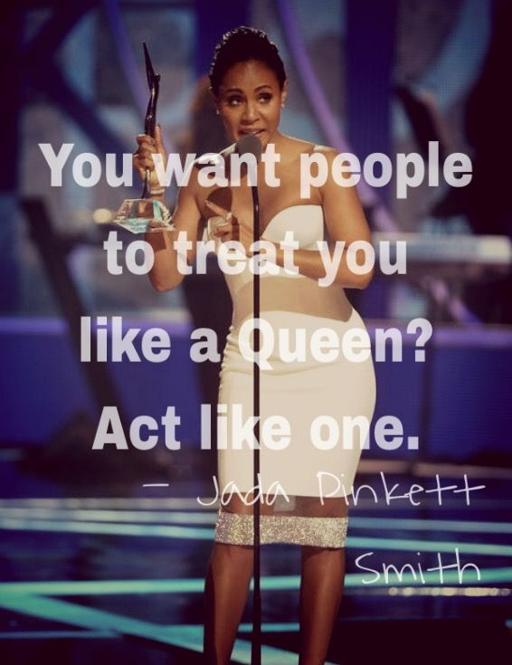 Two snaps for this quote from Jada Pinkett Smith from the 2015 #blackgirlsrock…