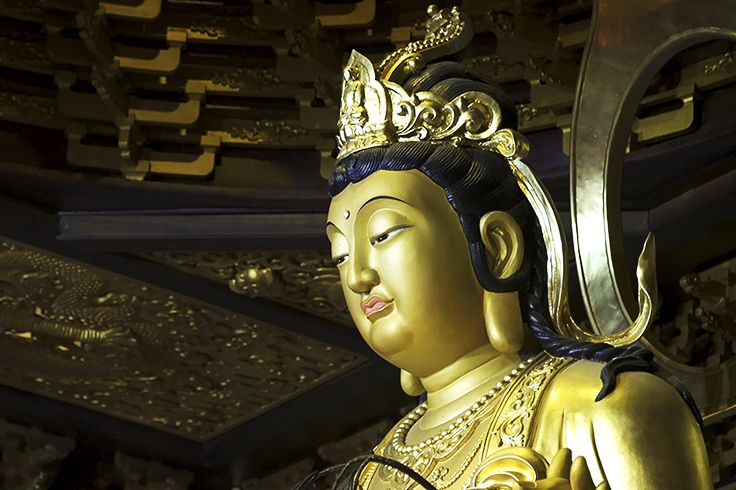 #NanshanTemple in #Sanya is a famous #buddhist shrine. You can experience the #Zen culture there.  #Whererefreshingbegins #Culture #Bodhisattva #Buddhism #Guanyin