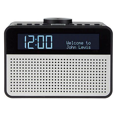 Buy John Lewis Astro DAB+/FM Digital Clock Radio with Alarm & LCD Display Online at johnlewis.com