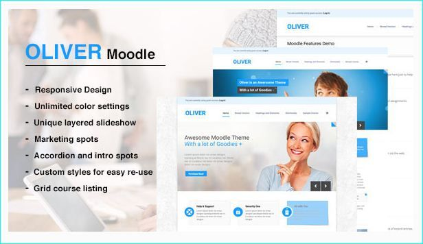 Top 10 Moodle Themes For Powerful E-Learning Website