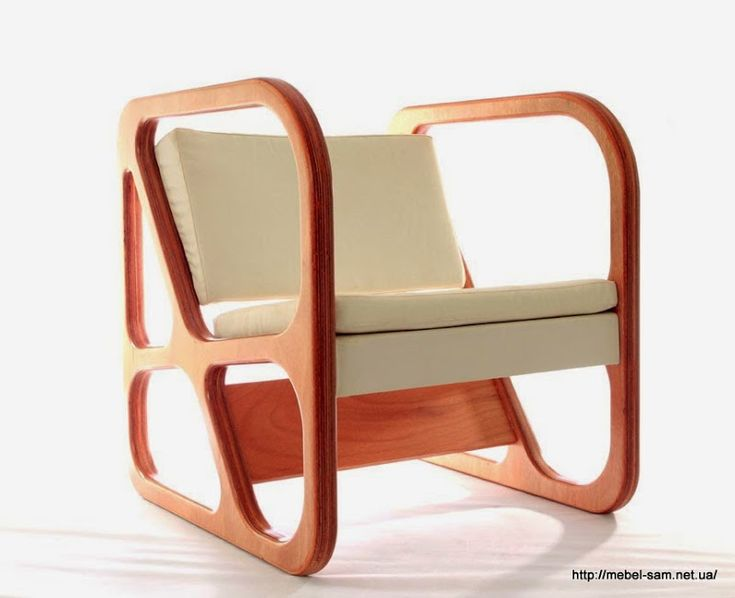 Мебель из фанеры от турецкой студии Naiftasarim